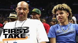 First Take Sides With Lavar Ball On Lamelo