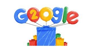 Google's 20th Birthday - US