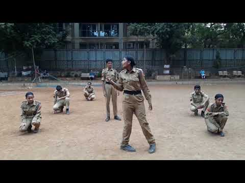 Sathaye College NCC- Street-play at Vile Parle Ground on 26th May 2018