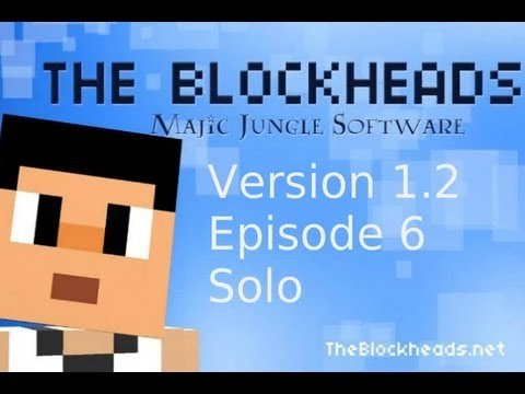 The Blockheads Version 1.2 Ep.6 House building