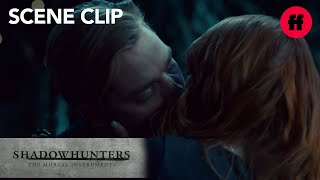 Shadowhunters | Season 2, Episode 14: Clary Kisses Jace | Freeform