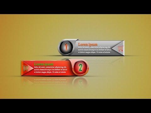 Photoshop Tutorial | Web Banner Design | In Hindi / Urdu