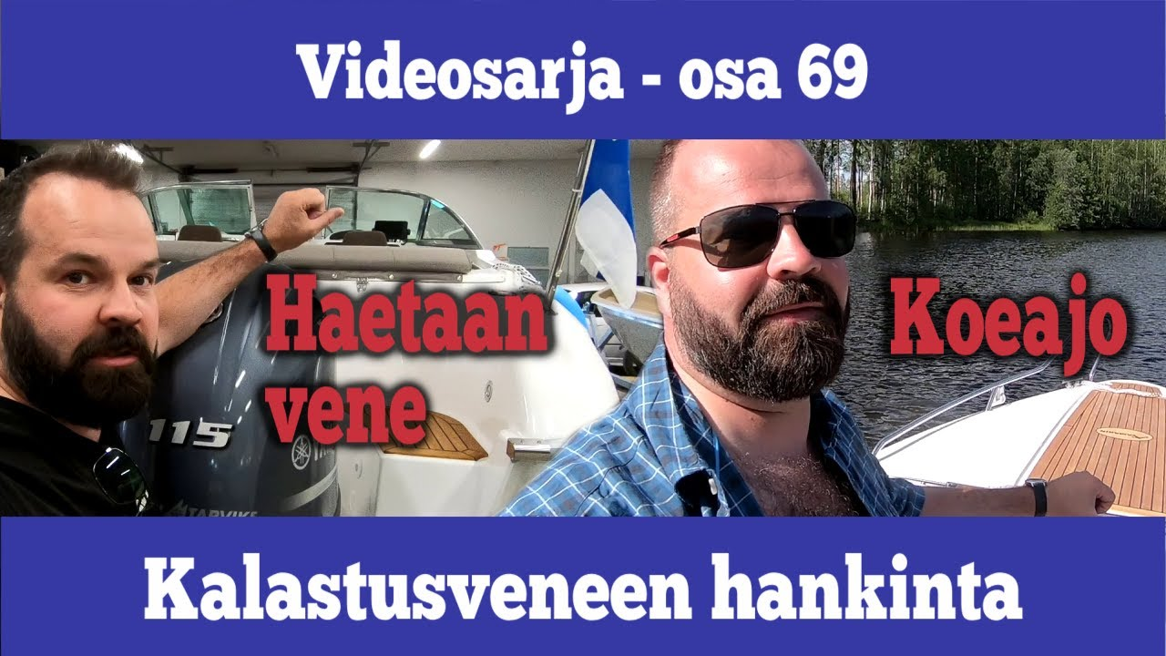 Osa 69 - Hankitaan vene Yamarin 59 DC ja ekaa kertaa vesillä - kausi 2019/2020