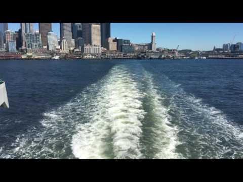 Leaving the Seattle Ferry Terminal