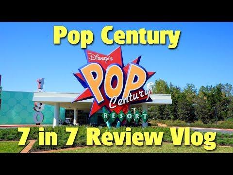 Disney's Pop Century Resort | 7 in 7 Vlog Review