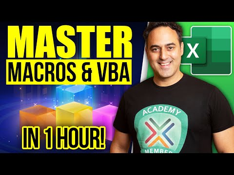 Excel Macros and VBA Tutorial For Beginners - Record Macros & Learn VBA Programming