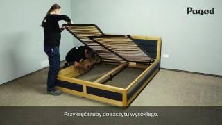Instrukcja Montażu łóżka Ze Skrzynią Na Pościel Pakvimnet