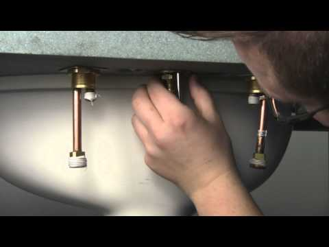 How to install a Widespread Bathroom Faucet