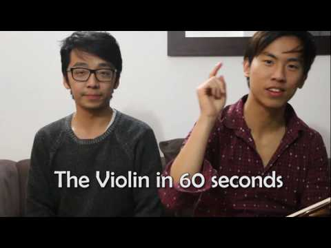 Learn to Play the Violin in 1 MINUTE!
