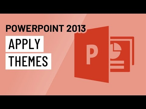 PowerPoint 2013: Applying Themes