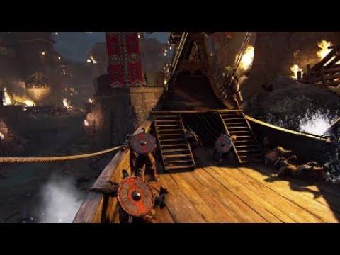 For Honor - New Map Beachead Gameplay
