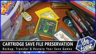 Cartridge Save File Preservation - Backup, Transfer & Restore Your Save Games / MY LIFE IN GAMING