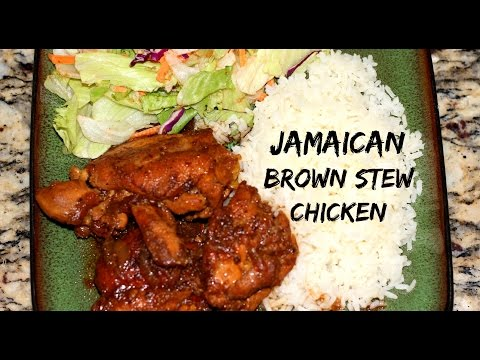 JAMAICAN BROWN STEW CHICKEN RECIPE (Chicken Fricassee) | The Jamaican Mother