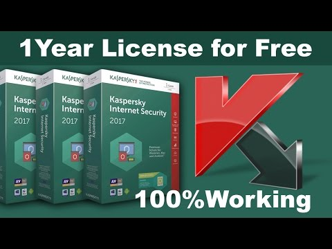 Kaspersky Internet Security 2017 for 1 year free 100% working Activation code