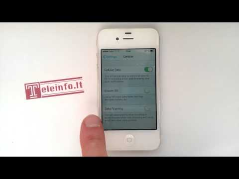 How to turn data roaming iPhone 4, 4s, 5, 5s, 6, 6plus