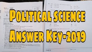 Download Answer Key political science 2019 Video