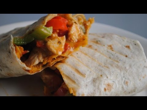 CHICKEN ENCHILADA BURRITOS - Student Recipe