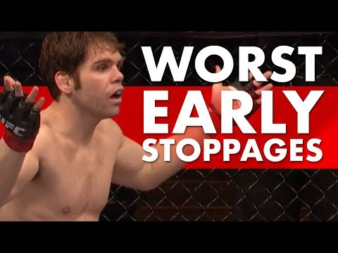 10 Worst UFC Early Stoppages
