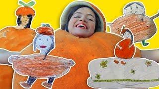 فوزي موزي وتوتي - صور كعكة عيد ميلاد المندلينا - Kids Drawing Mandalina