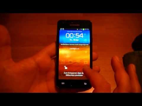 Samsung Galaxy S2 GT-I9100 - Root und CWM-Recovery ohne PC