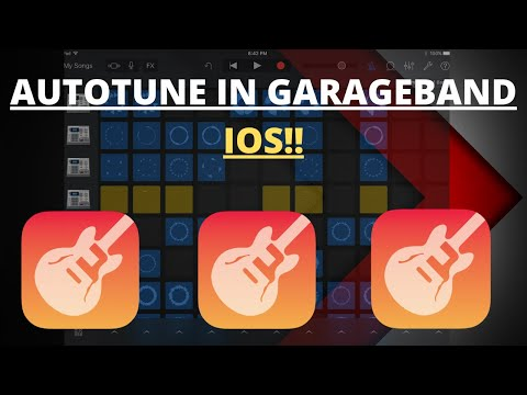 HOW TO AUTOTUNE IN GARAGEBAND IOS! (FREE)