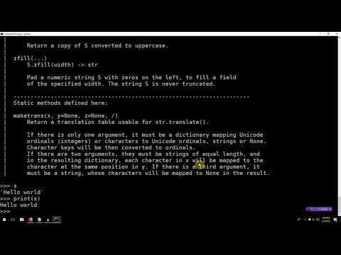 Learning Python 001: Hello World