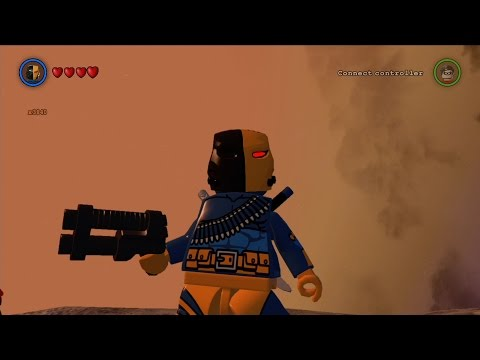 LEGO Batman 3: Beyond Gotham - Deathstroke Free Roam Gameplay [HD]