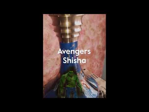 Piranha Hookah Shisha Custom Paint Avengers Edition !!! by Mainhattan-Trends