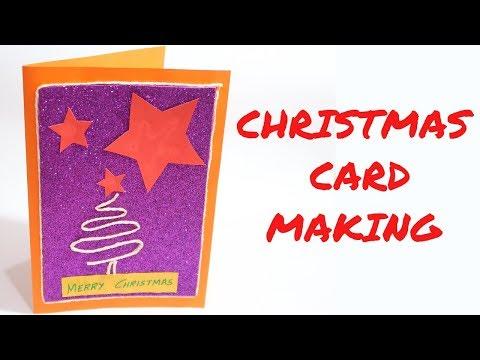 CHRISTMAS CARD | CARD MAKING COMPETITION | CARD MAKING | CREATIVE MOM TANU | DIY CARD | EASY CARD