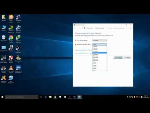 How to set sleep time in windows 10 | Windows 7 | 8-8.1 | 10 Tutorial | Laptop PC Tips & Tricks