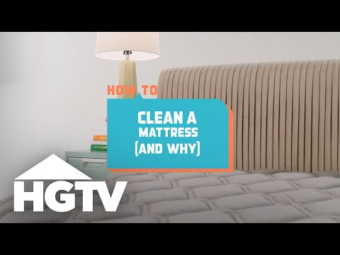 How to Clean a Mattress - How to House - HGTV