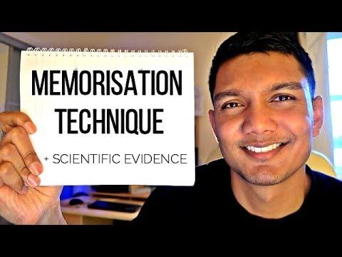 EASY 4 STEP MEMORISATION TECHNIQUE FOR MEDICAL SCHOOL