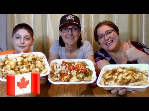 Canadian Poutine | Gay Family Mukbang (먹방) - Eating Show