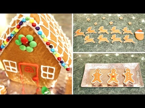 How to make my favorite gingerbread cookies & royal icing!