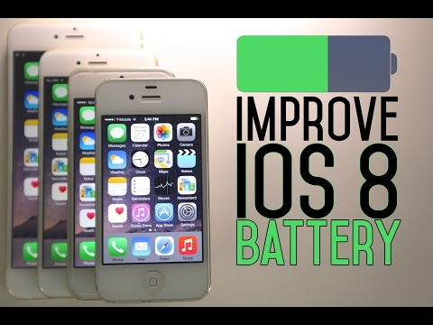 How To Improve iOS 8 Battery Life - iPhone, iPad & iPod Tips