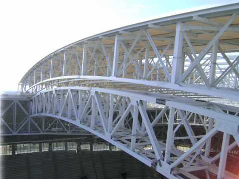 Cowboys Stadium Construction