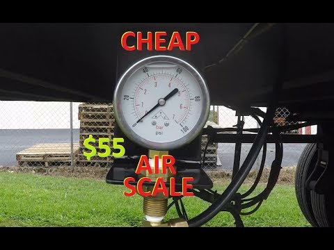 Adding A Air Scale (FOR CHEAP)