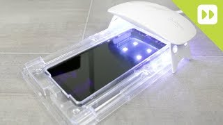 WhiteStone Dome Galaxy Note 8 Glass Screen Protector Installation Guide & Review
