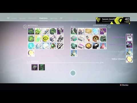 Destiny opening sterling treasure