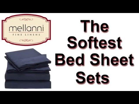 Mellanni Bunk Bed Sets | Bed Sheets For Boys - Deep Fitted And High Quality