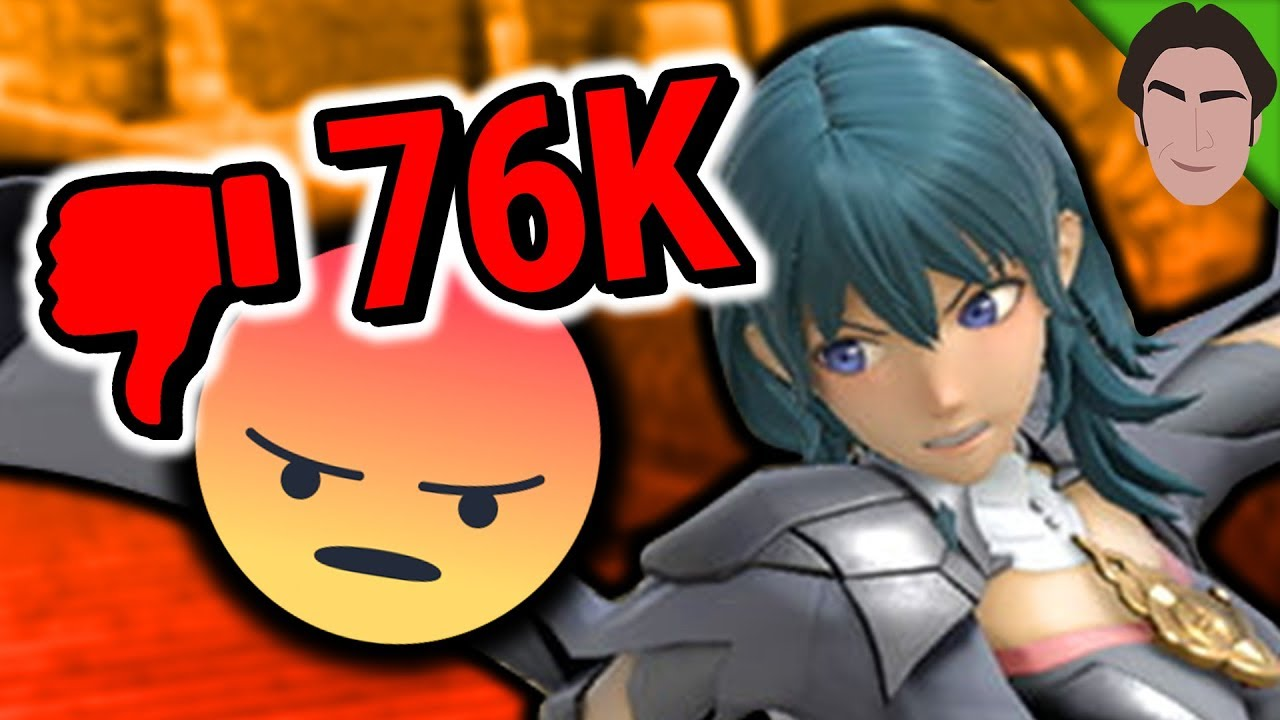 Byleth = Bad!! Fire Emblem Controversy in Smash Bros Ultimate