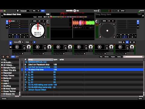 How to use Serato DJ SP6 Sample Player