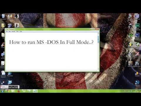 How to Run Cmd in Full Screen in Windows 7