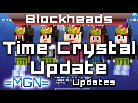 Blockheads - Time Crystal Update Removes Unlimited TC