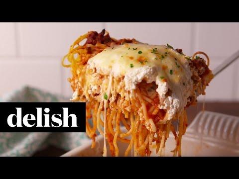 Spaghetti Lasagna | Delish