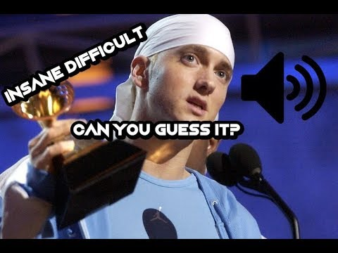 Guess the Eminem song by it's instrumental! 2018