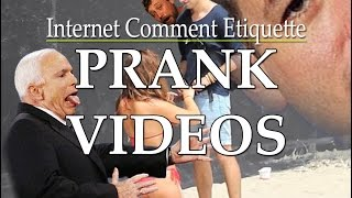 Commenting on Prank Videos