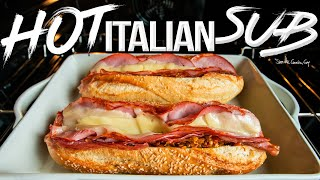 The GODFATHER of Sandwich Recipes - Baked Italian Sub/Hoagie/Hero | SAM THE COOKING GUY 4K