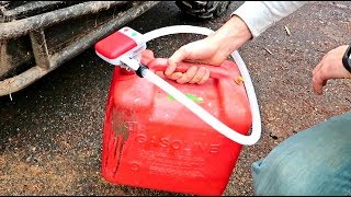 Battery Powered Gas Can