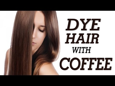 How To Dye Your Hair Naturally At Home With Coffee| How To Dye Your Hair With Coffee